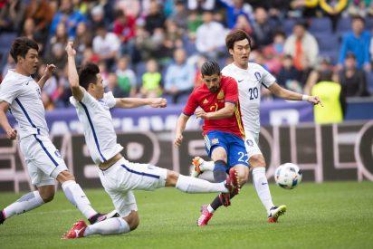 España baila un vals en Salzburgo a cuenta de la tierna Corea del Sur (6-1)