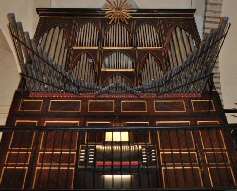 Restaurado el órgano barroco de Santa Eulalia de Etxauri