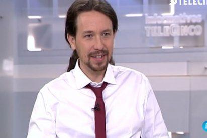 Pablo Iglesias, el champú y su corbatín de banderillero