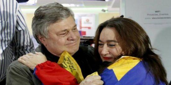 """Así llaman """"golpista"""" las 'garrapatas' podemitas al padre de Leopoldo López"""