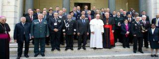 El Papa insta a jueces y fiscales a ser libres y rechazar la