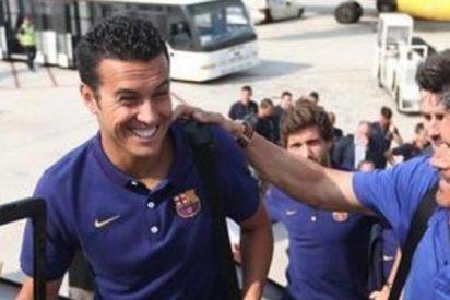 Pedro se ofrece a Luis Enrique como cuarto delantero del Barça
