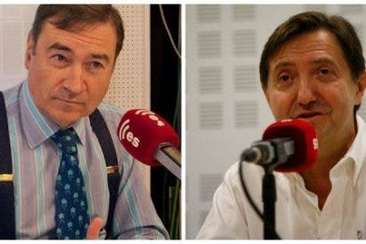 "[AUDIO] Losantos tapa la boca al 'podemita' Pedrojota: ""Yo no juego al ping-pong con Iglesias como tú"""