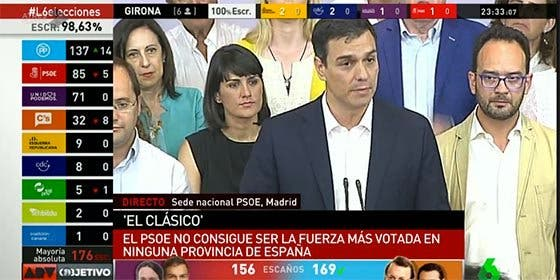 """Pedro Sánchez le baja los humos a Pablo Iglesias: """"Tendrá que reflexionar tras esos resultados"""""""