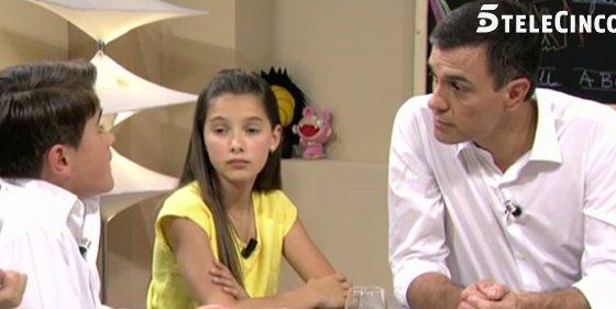 El desternillante enfrentamiento entre Pedro Sánchez y un niño podemita