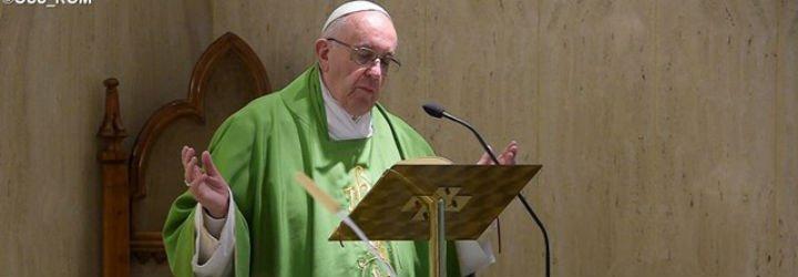 """Francisco invita a """"rezar por los enemigos, por aquellos que no nos quieren"""""""
