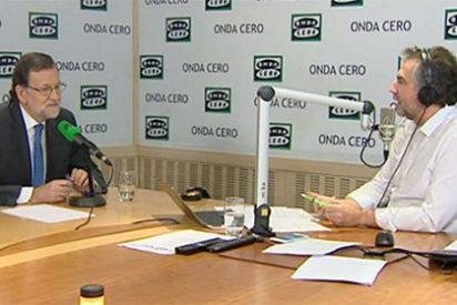 """Mariano Rajoy le enseña los dientes a Carlos Alsina: """"Ya sé que no le gusta mi posición"""""""