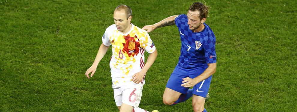 Rakitic desvela quiénes son sus mejores amigos en el vestuario del Barça