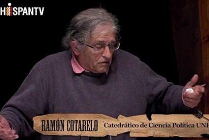 """El profesor Ramón Cotarelo: """"Ferreras, su señora, Évole, Wyoming son payasos al servicio de Podemos"""""""