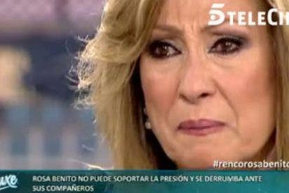 El suicidio mediático de Rosa Benito al volver a enfrentarse a los directores de 'Sálvame'