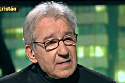 El 'chaquetero' José Sacristán pasa de poner a escurrir a Podemos a ponerle voz a su 'spot'