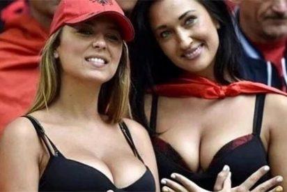 El fervor por Albania aumenta cada día gracias a estas dos aficionadas