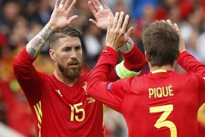 Gerard Piqué y Sergio Ramos firman la paz en Twitter: vuelven a seguirse