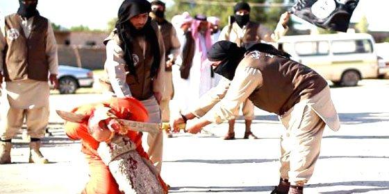 El 'brujo cenizo' a quien ISIS decapita con una dantesca espada
