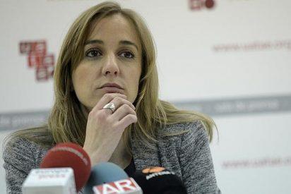 Tania Sánchez se marca un 'Espinar' y planta a los organizadores de un debate