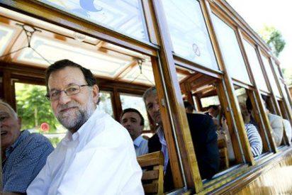 Rajoy, a todo tren: está convencido de que el PP logrará el cuarto diputado en Baleares