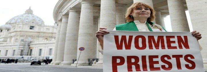 El Vaticano recibe a la delegación que milita por la ordenación de mujeres