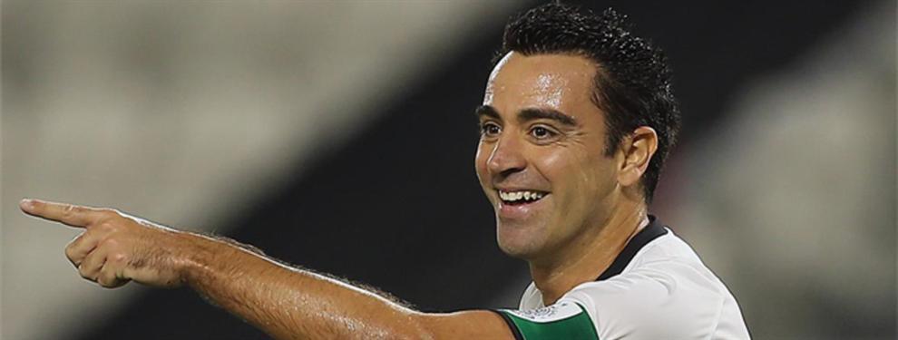 Xavi descubre una campaña organizada contra el FC Barcelona