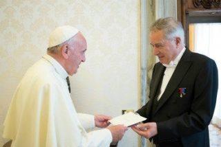 El Papa acepta las credenciales del nuevo embajador de Francia