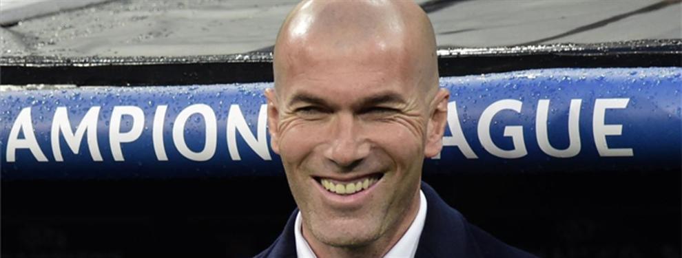Zidane está chocho con la llegada del segundo gran galáctico para el Real