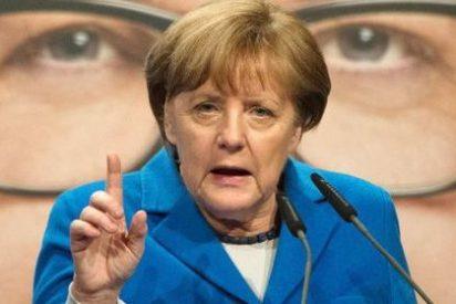 Angela Merkel habla de reformas y austeridad y pone a España como ejemplo