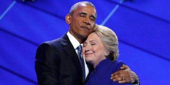 """Barack Obama: """"Nunca ha habido hombre o mujer más cualificado que Hillary"""""""