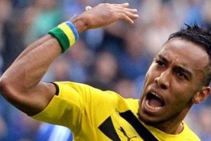"""Pierre-Emerick Aubameyang: """"Sólo el Real Madrid puede sacarme del Borussia Dortmund"""""""