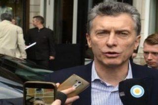 """Macri dice que las declaraciones del Papa servirán """"para que no haya intermediarios"""" en la relación"""