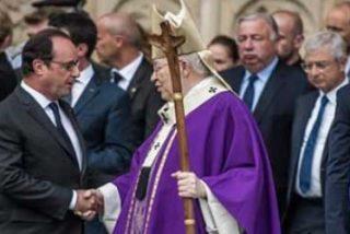 Hollande asiste a la misa en honor del sacerdote asesinado en Francia