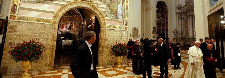 Francisco visitará la iglesia de la Porciúncula, en Asís