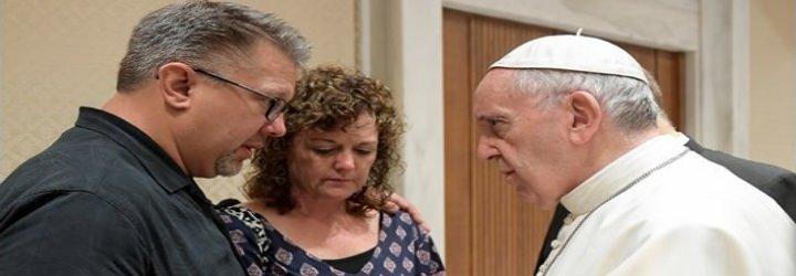 El Papa recibe a los padres del joven estadounidense hallado muerto en Roma