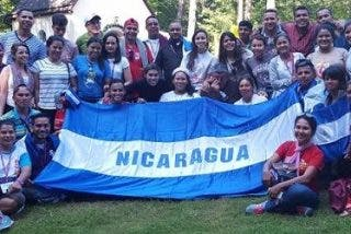 Nicaragüenses en la JMJ: un viaje de 10.000 kilómetros para ver al Papa Francisco