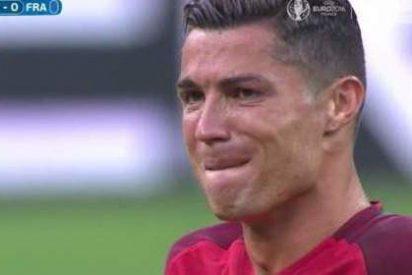 El espíritu del lesionado Cristiano Ronaldo hace a Portugal campeona de Europa