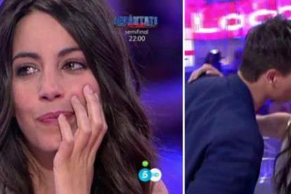Almudena Cid rompe a llorar en 'Pasapalabra' ante la declaración de su marido, Christian Gálvez