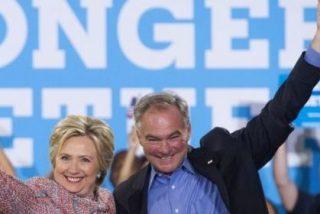 Hillary Clinton elige al senador Tim Kaine como su vicepresidente