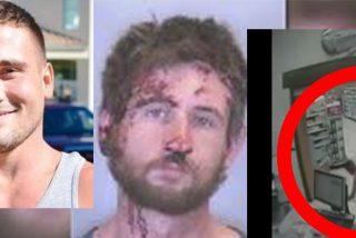 El boxeador le parte la cara al drogata que atraca una farmacia