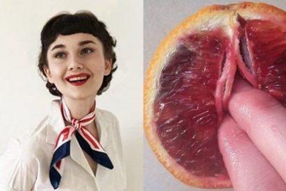 La artista que disfruta 'masturbando' naranjas y papayas