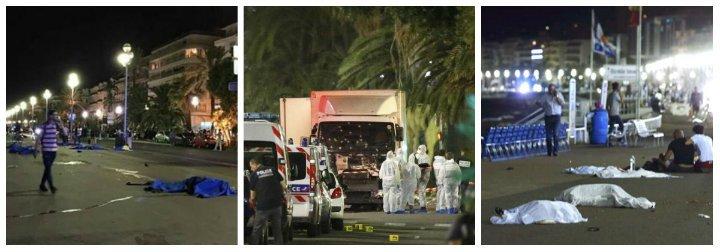 Masacre en Niza: un 'lobo solitario' aplasta con su camión a 88 personas y hiere a decenas