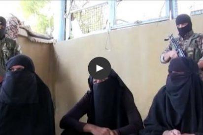 [VÍDEO] Los pistoleros del ISIS que se van patas abajo disfrazados de mujer