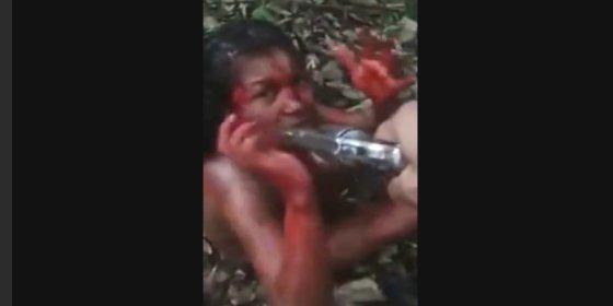 Narcos: Asesinato a sangre fría de una aterrada e implorante 'chivata'