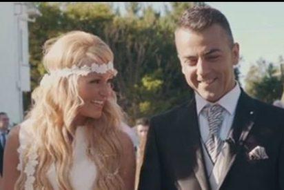 Las fotos más sorprendentes de la boda de Saray ('GH 11') con un cambio físico brutal