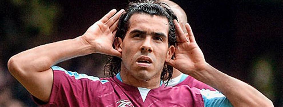 ¡Bombazo! ¿Cuánto vale el regreso de Carlos Tévez al West Ham?