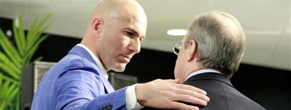 ¡Bombazo! La preocupación de Zidane llega a Florentino Pérez