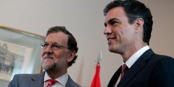 Mariano y Pedro: Diálogo de aspirantes a La Moncloa
