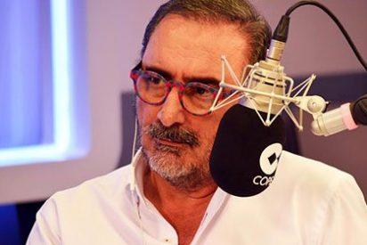 """Carlos Herrera llama """"hijos de puta"""" a todos aquellos que vejaron a los familiares del torero Víctor Barrio"""