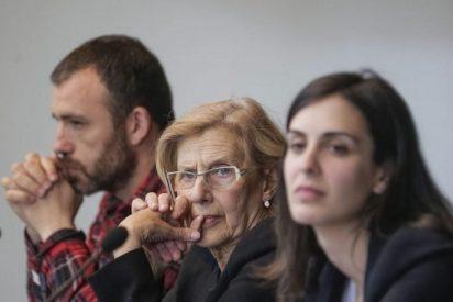 Carmena se desmarca de Ahora Madrid y ataca ahora a los macarras izquierdistas detenidos por agredir a la gente