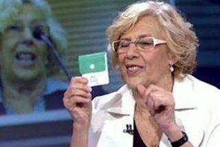 La última 'fumada' de Manuela Carmena: