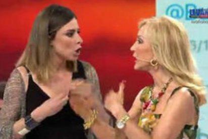 Carmen Lomana cava su tumba mediática al volver a atacar a la reina madre de Telecinco, Sandra Barneda