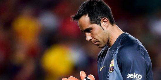 Claudio Bravo no se fía del interés de Pep Guardiola y el Manchester City