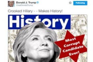 El tuit borrado por el que Donald Trump es acusado de antisemita